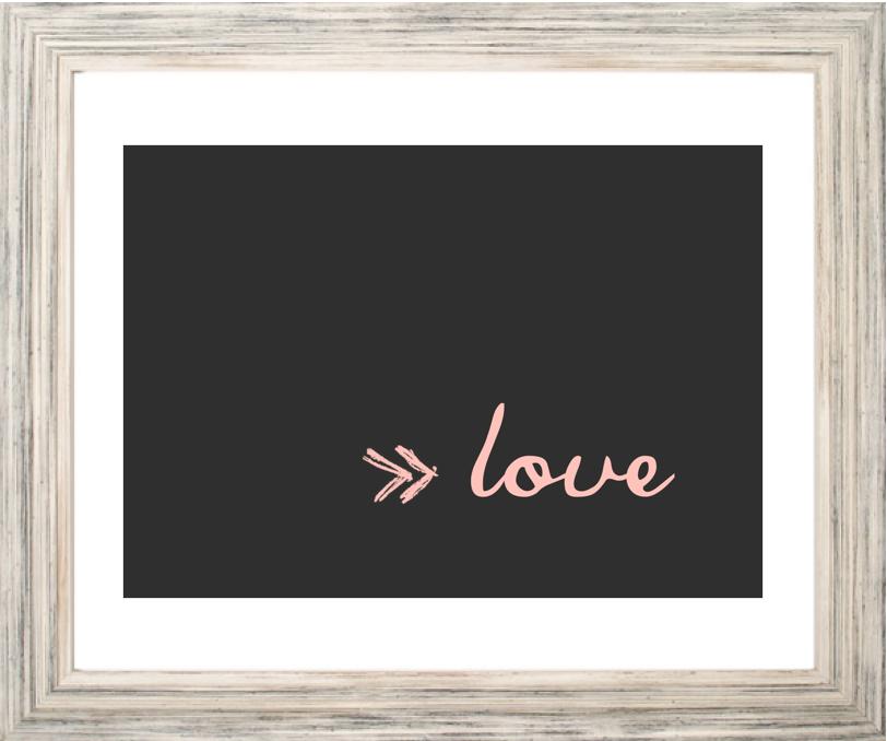Lamima Love con marco by Mi casa no es de muñecas