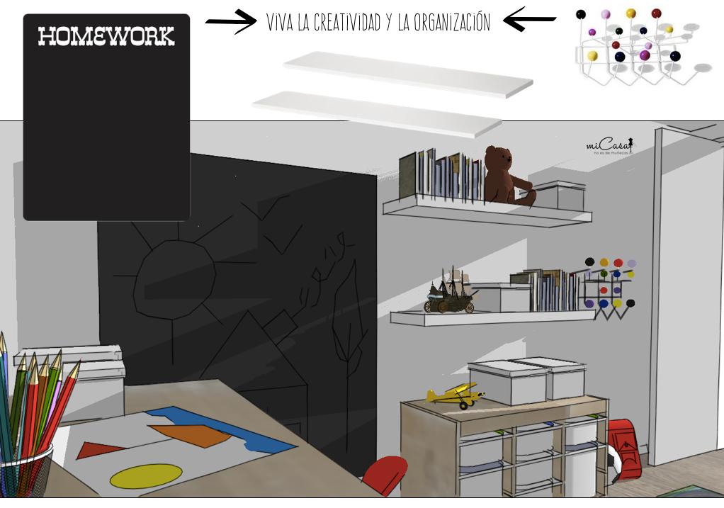 Proyecto de asesor a habitaci n infantil para una - Proyectos de interiorismo online ...