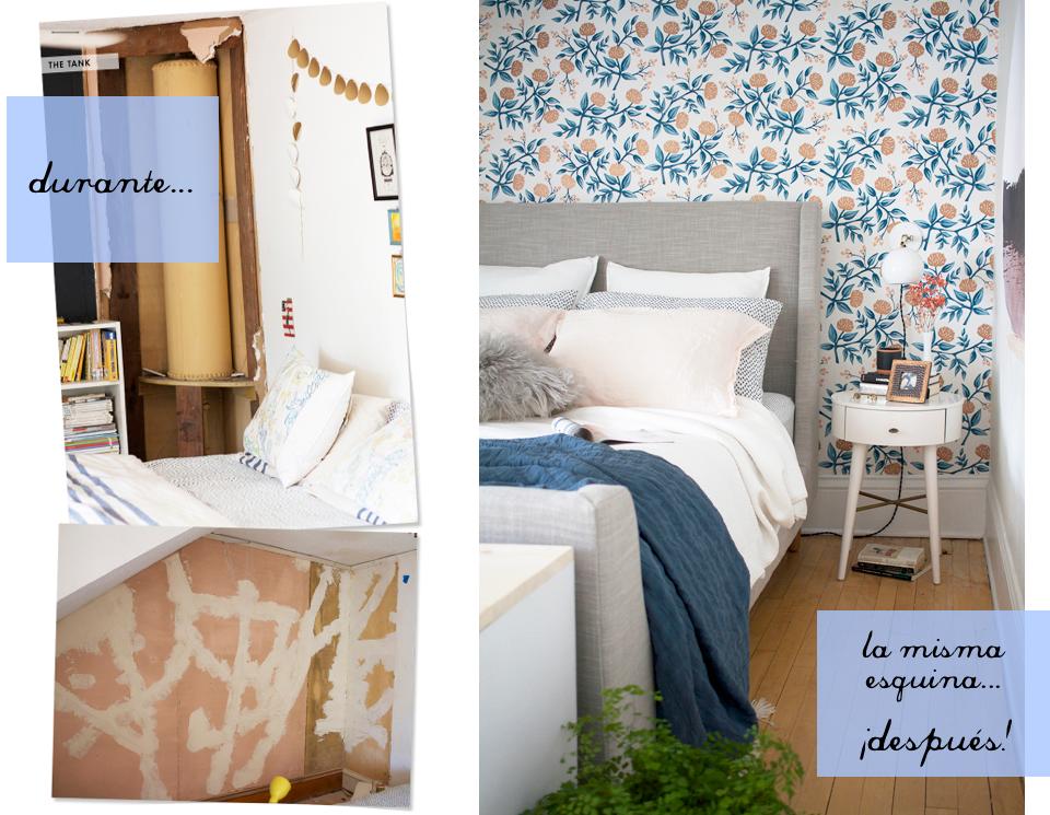 Antes y después reforma dormitorio 14