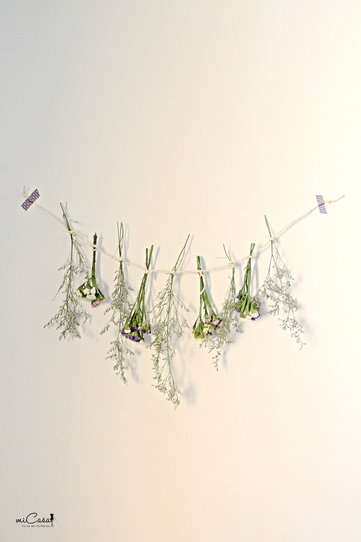 Cuerda de flores C
