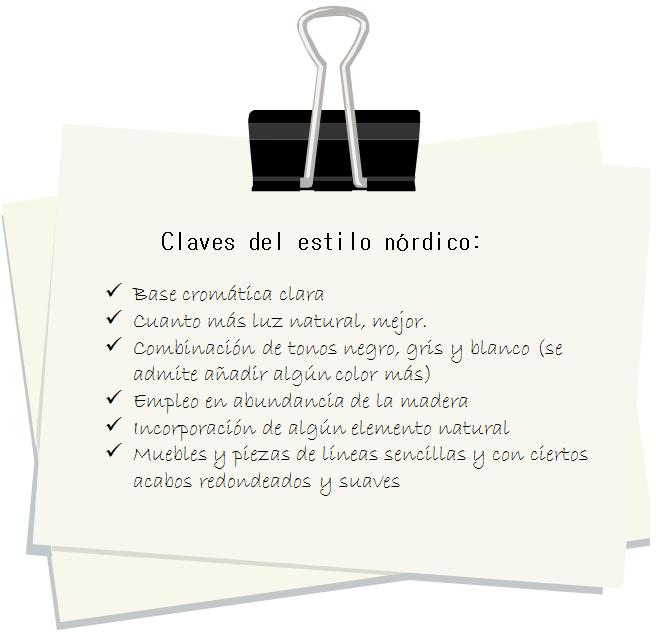 Claves del estilo nordico