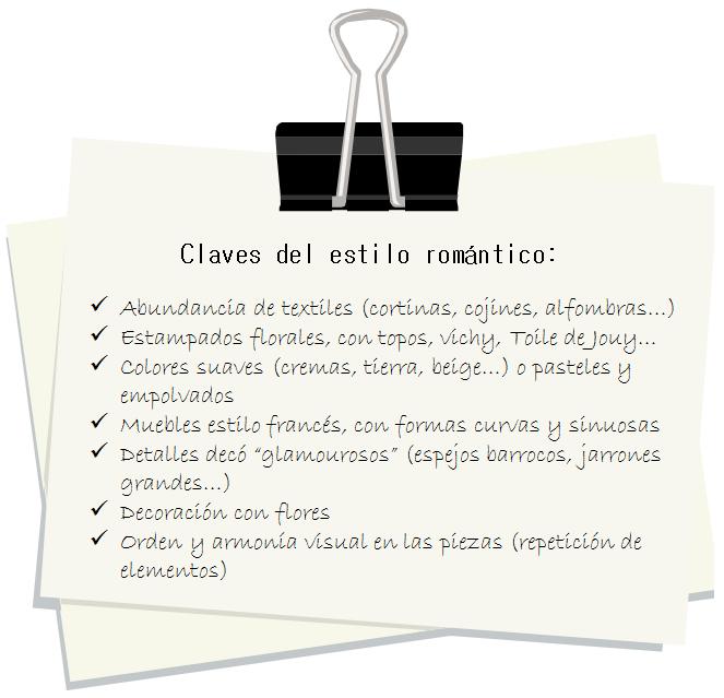 Claves del estilo romántico