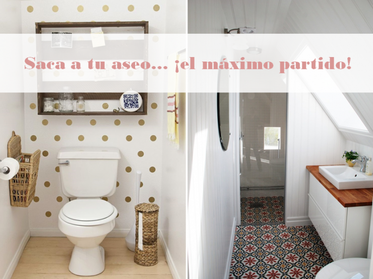 Ideas para ba os peque os mi casa no es de mu ecas for Decoracion de aseos pequenos