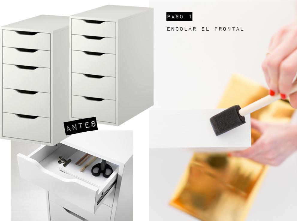 DIY-frontal cajones dorados 03