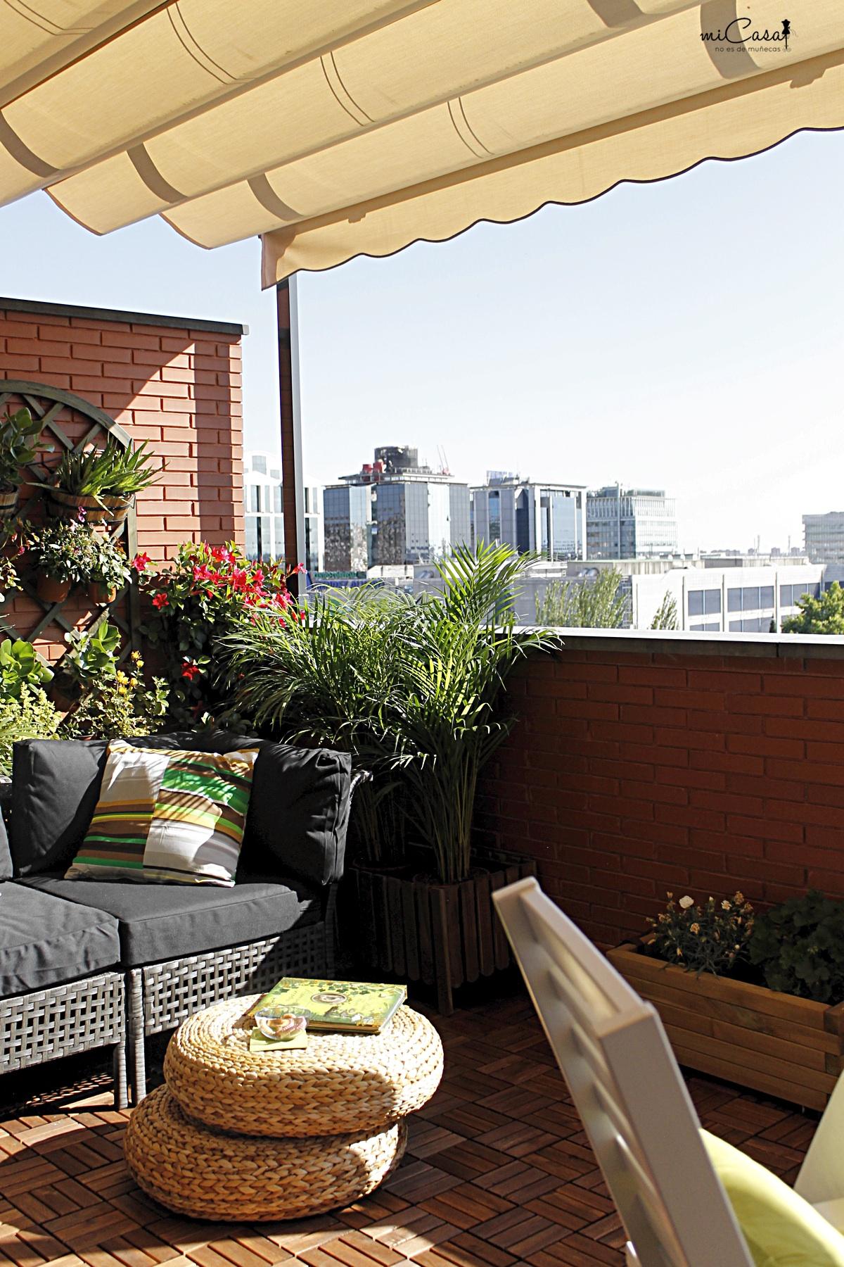 Decorando la terraza de mar a y david con ikea mi casa no es de mu ecas blog y asesor a - Ikea terraza y jardin ...