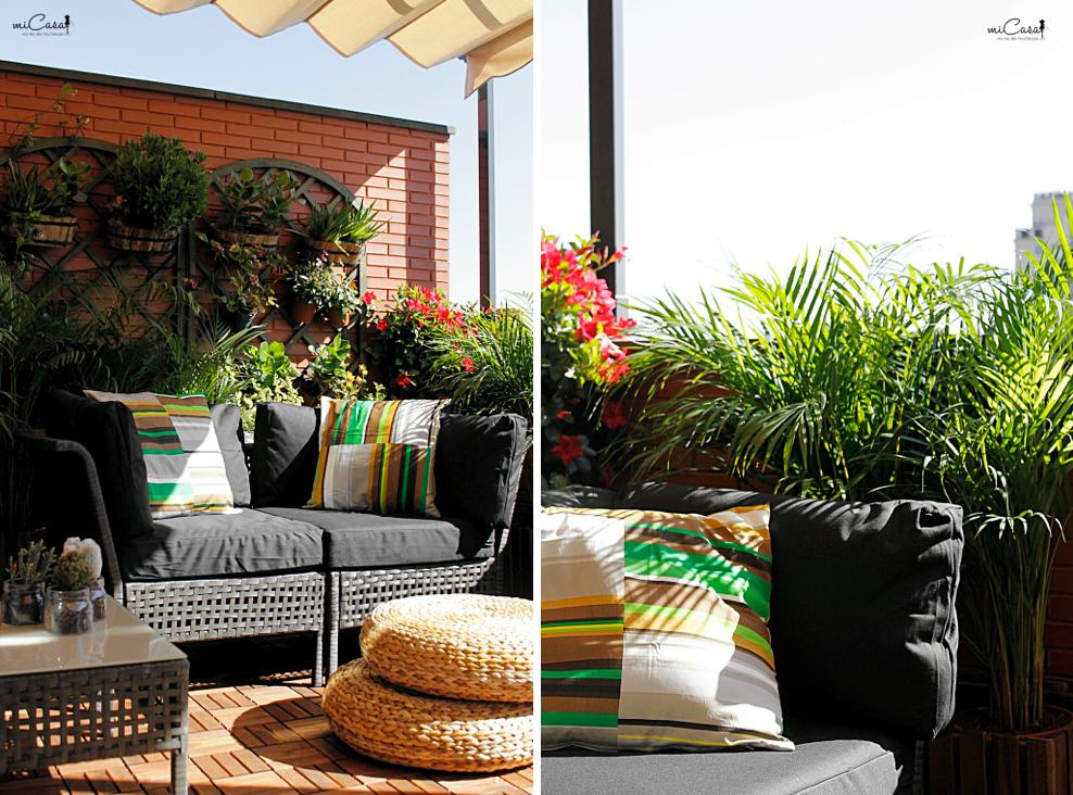 Decorando la terraza de mar a y david con ikea mi casa - Ikea terraza y jardin ...