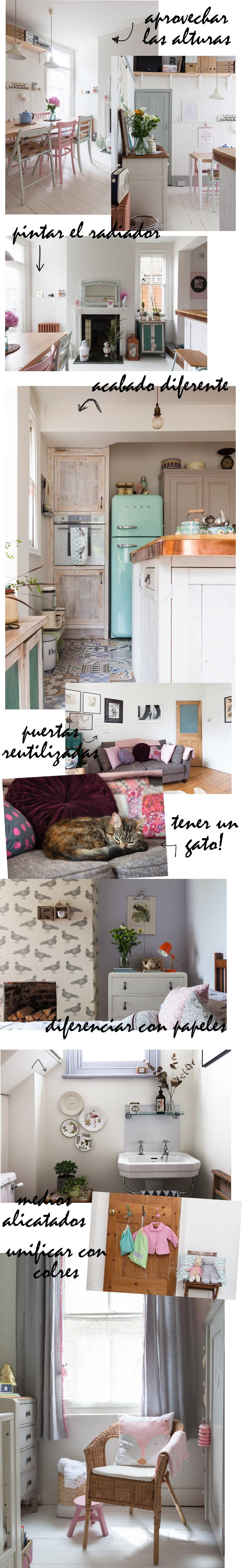 Casa vintage con buenas ideas