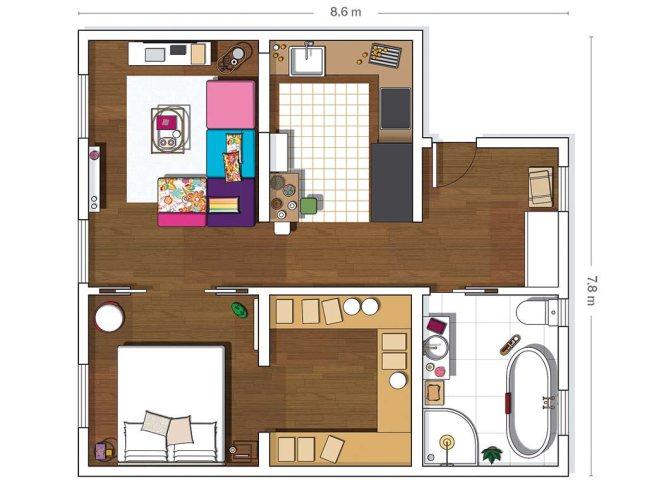 House tour - vivienda toque femenino 17