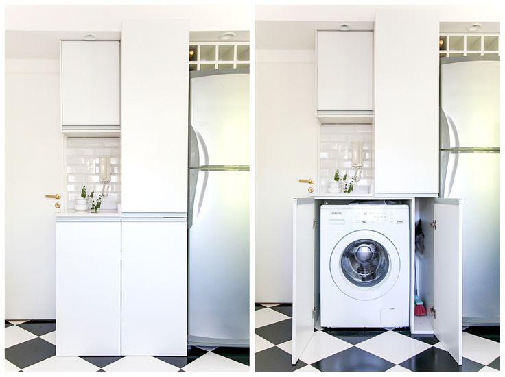 Mis must de limpieza y colada inspiraci n para guardar - Armario escobero cocina ...