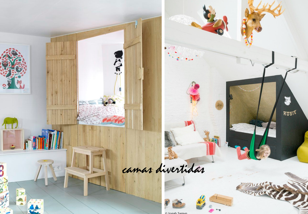 Ideas diferentes habitaciones infantiles 06