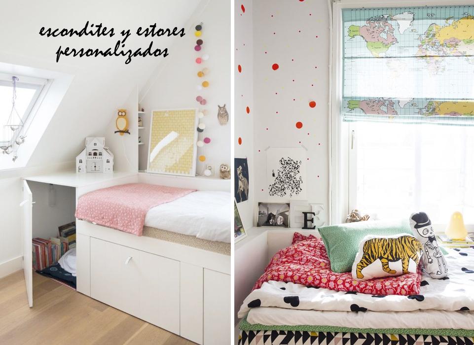 Ideas diferentes habitaciones infantiles 07