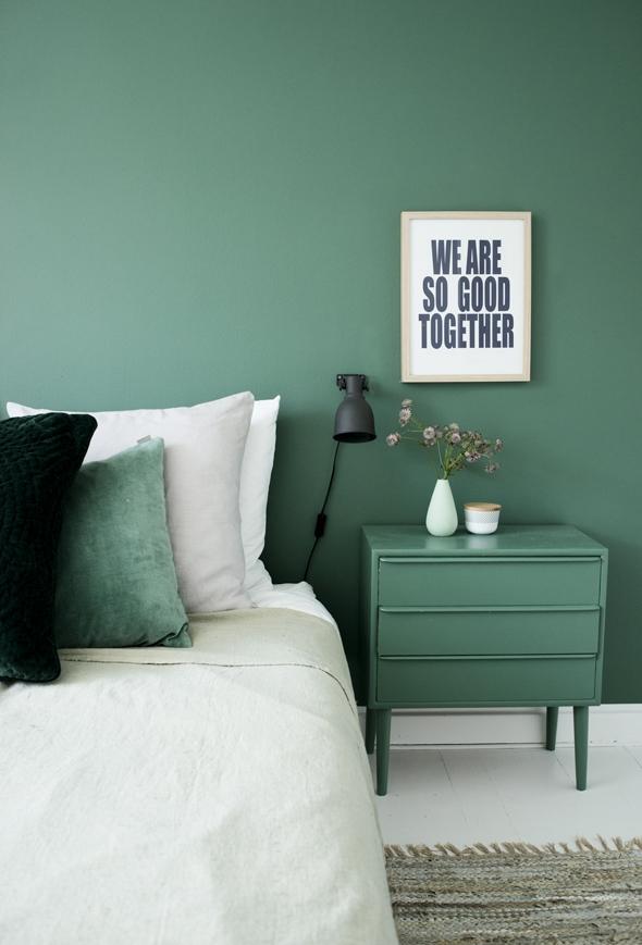 Pintar muebles igual que pared 05