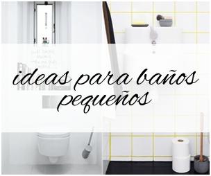 Banner Post ideas baños pequeños