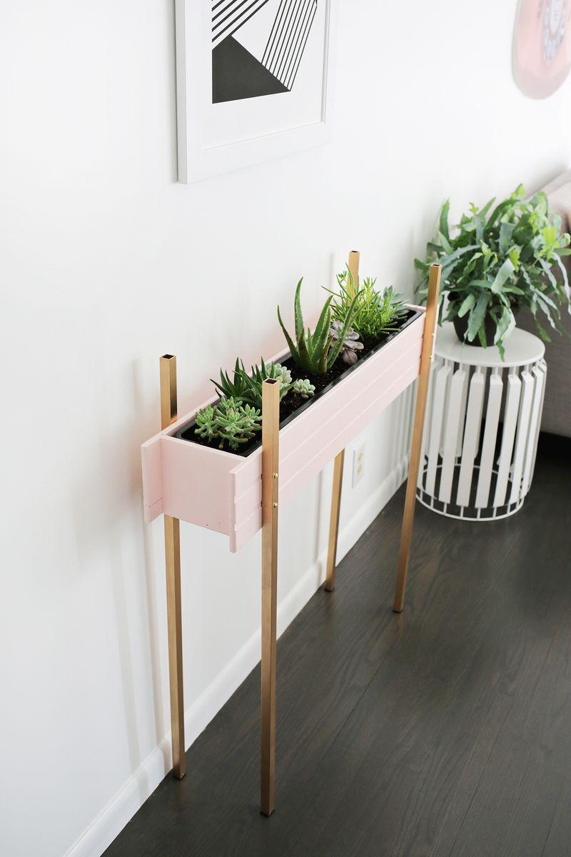 DIY - Jardinera interior 11