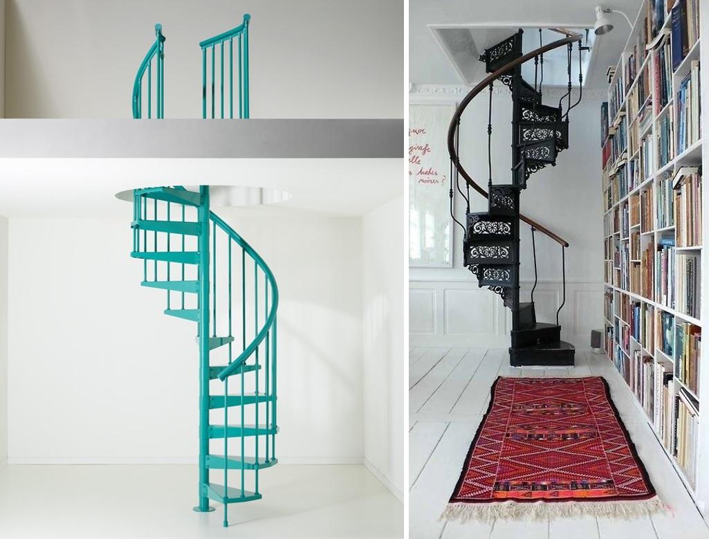 Escaleras caracol 12