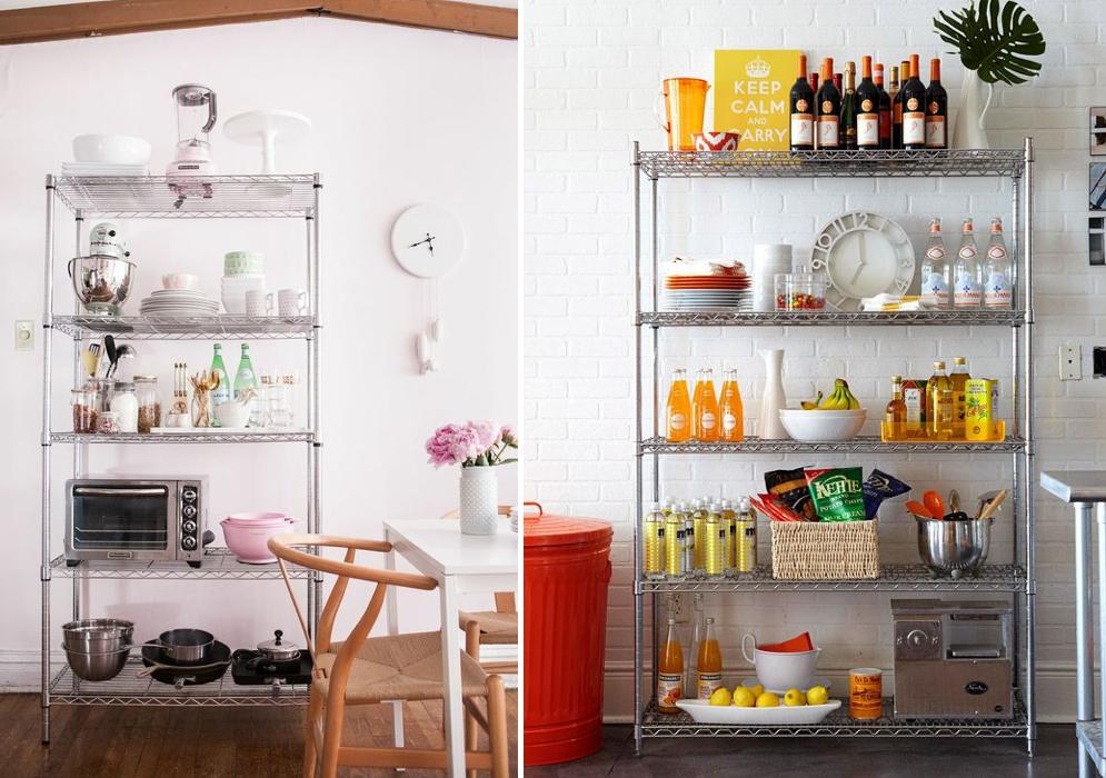 5 tips para almacenar los utensilios de cocina a la vista for Cacharros de cocina