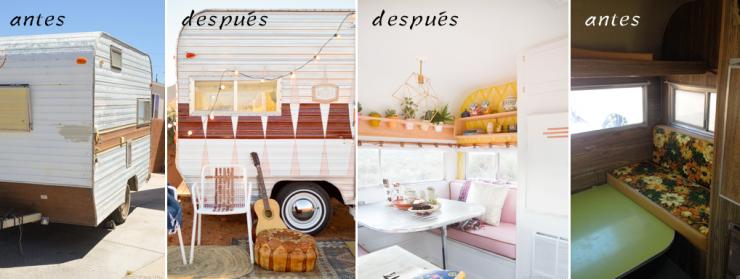 Antes despu s the nugget proyecto caravana mi casa - Decoracion de casas antes y despues ...