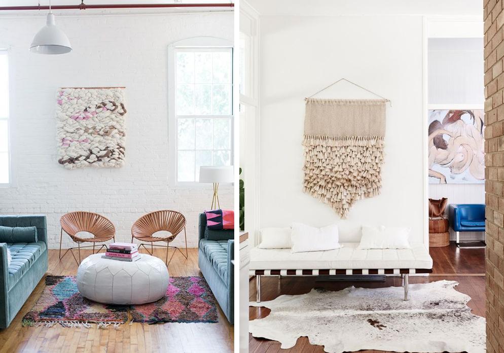 Decorar con tapices y tapices de macram mi casa no es - Tapices de macrame ...