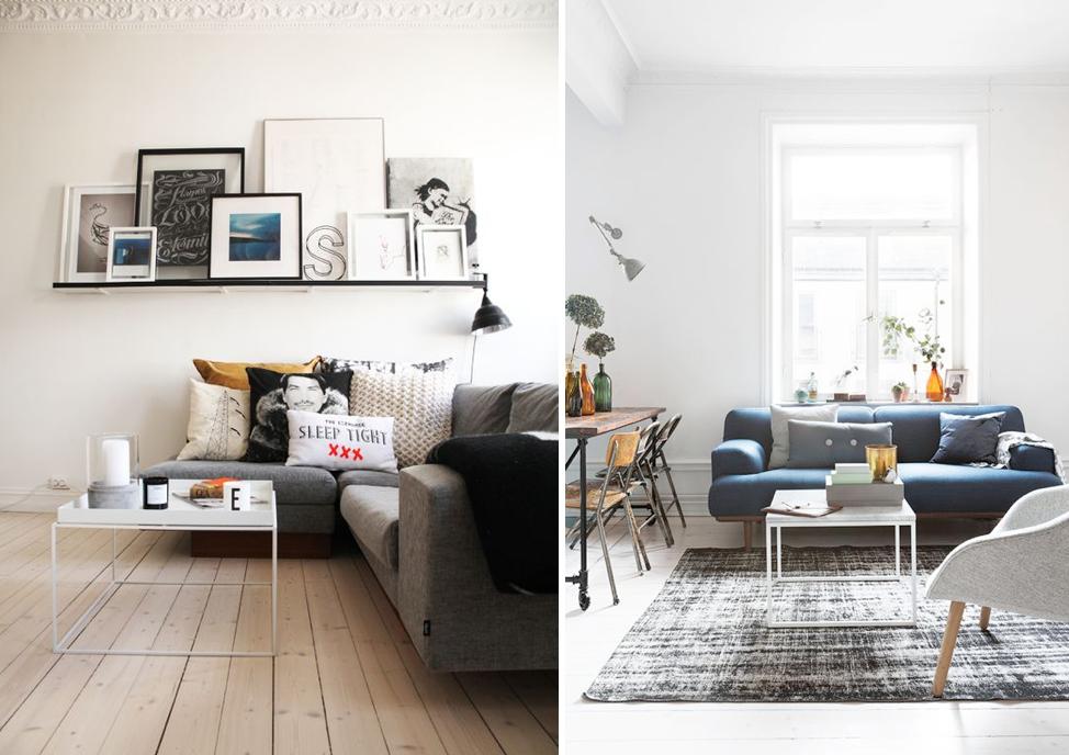 Mesas de centro ideales para salones peque os mi casa no for Mesas para espacios pequenos
