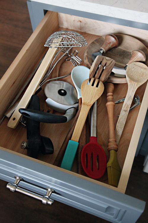 DIY-Organizador cajon cocina ANTES