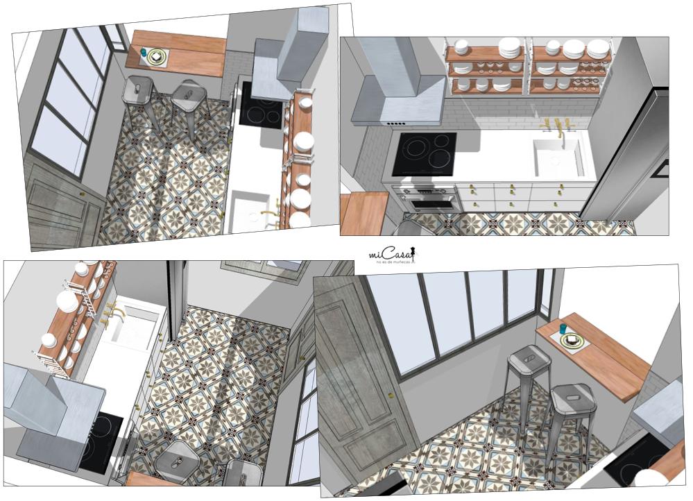 Aseosría online decoracion - Proyecto apatamento Paris 04