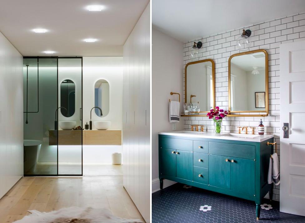 Dos espejos en el baño 05