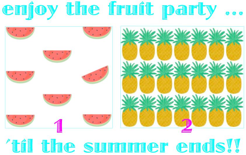 Vinilos frutas