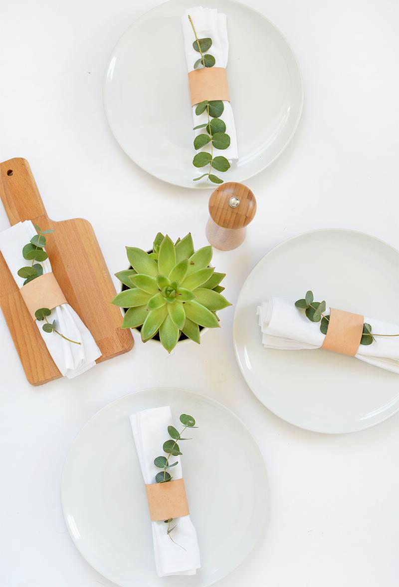 DIY servilletaro de cuero 04