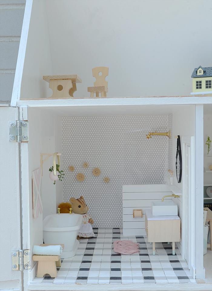 Decoracion casa muñecas 13