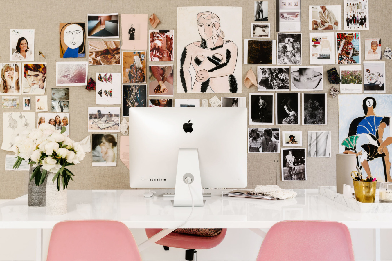 Oficina con papel de Ellie Cashman 04