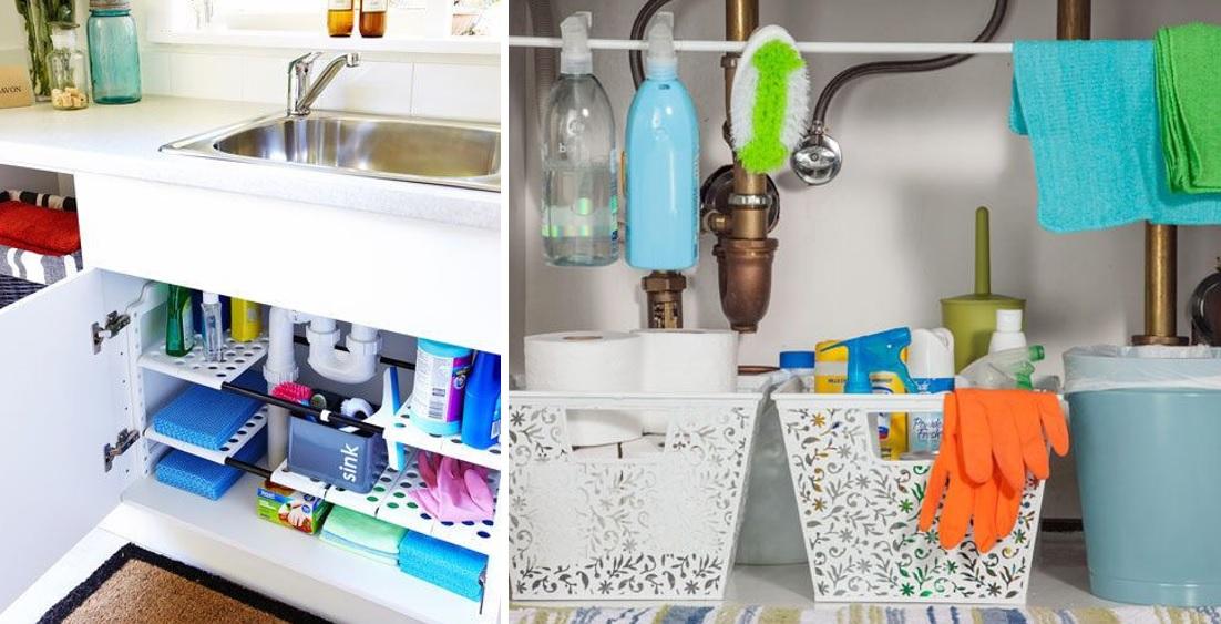 Organizar productos debajo del fregadero 03