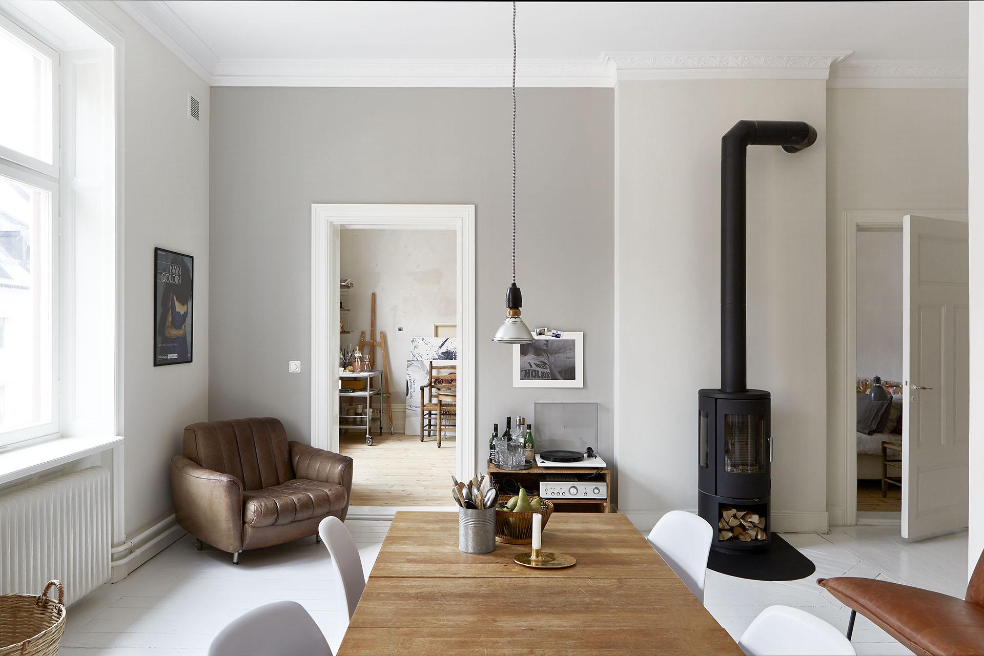 Apartamento nordico-industrial en Estocolmo 02