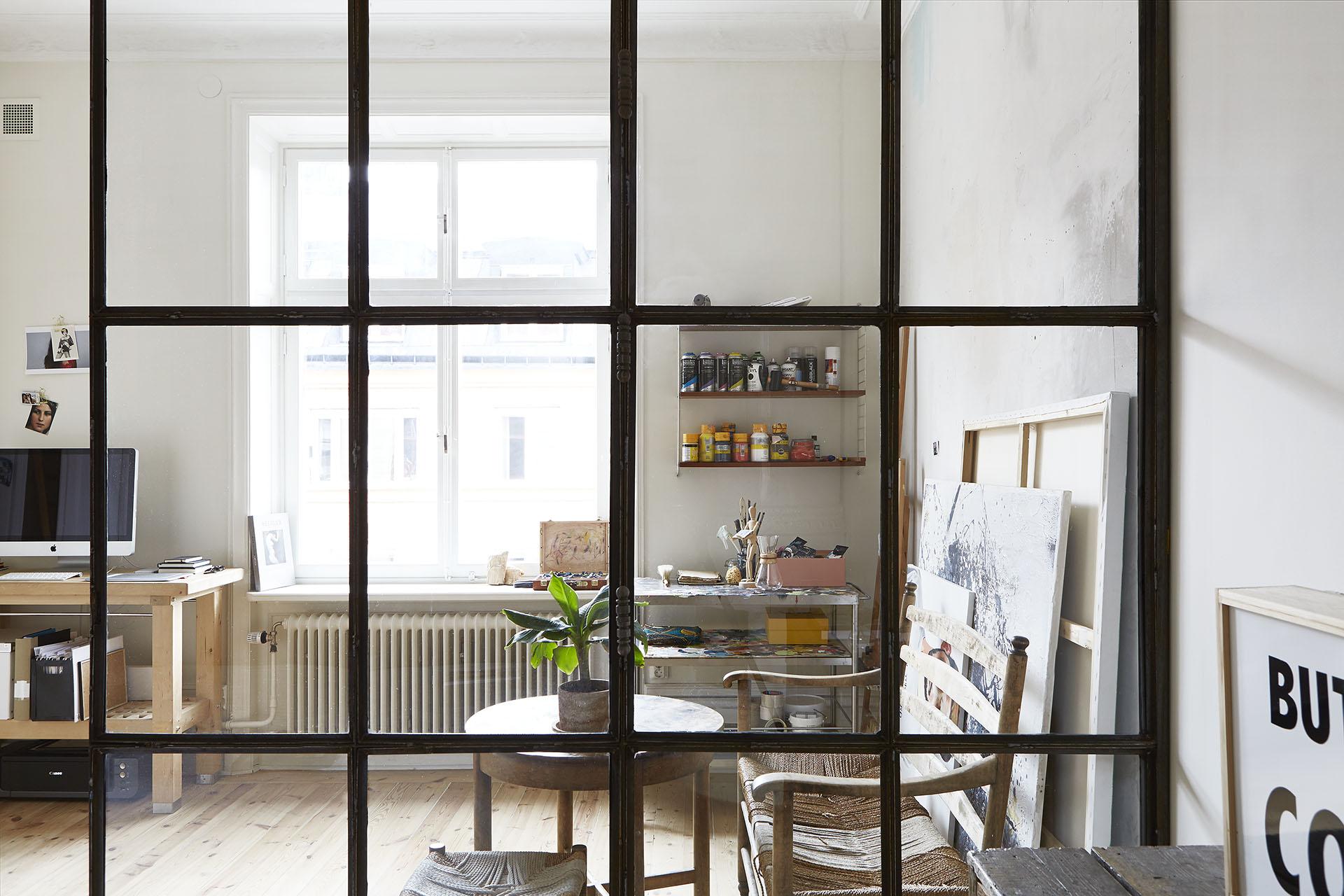 Apartamento nordico-industrial en Estocolmo 09
