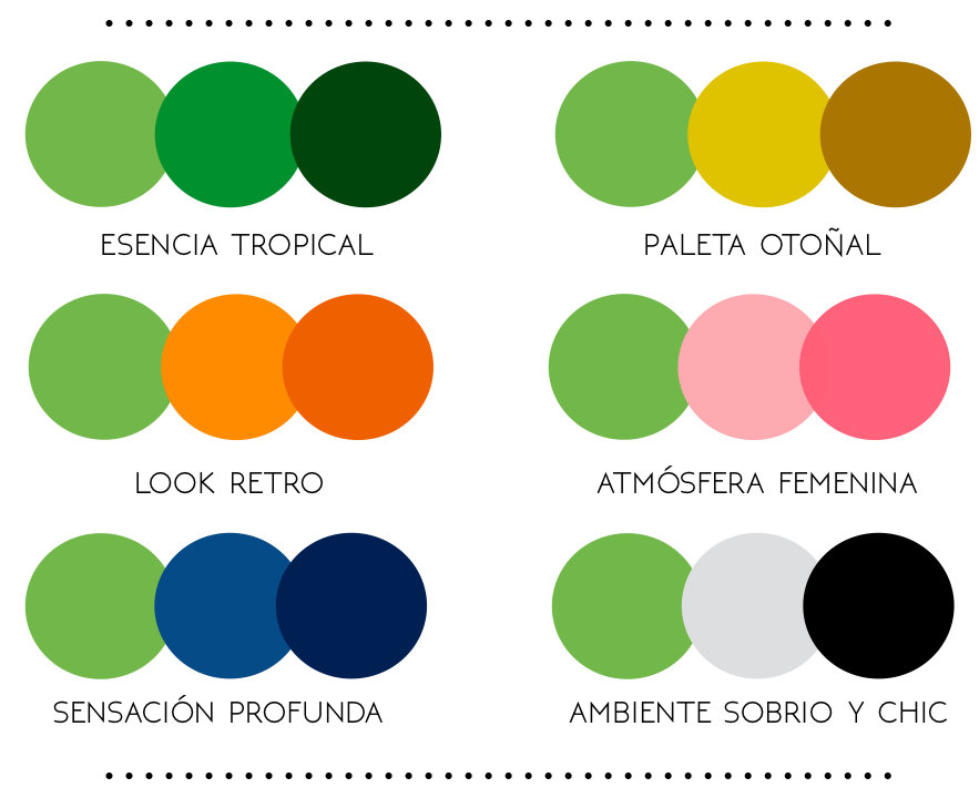 Greenery color Pantone 2017_paletas cromaticas