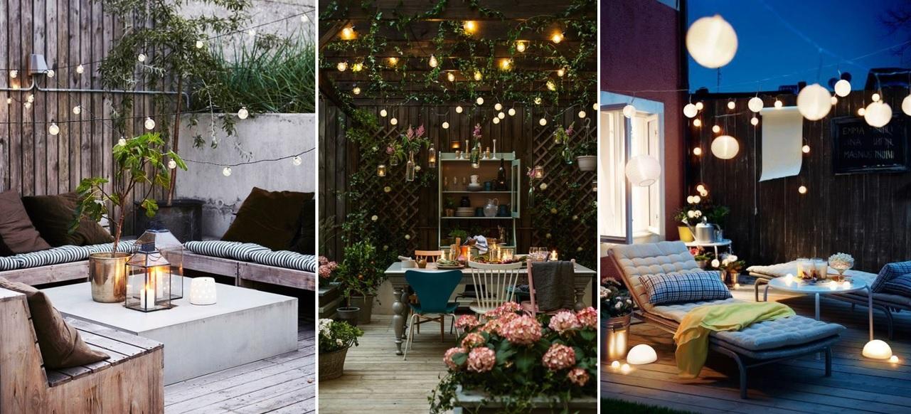 5 tips para poner a punto tu terraza o jard n esta for Iluminacion de patios y terrazas