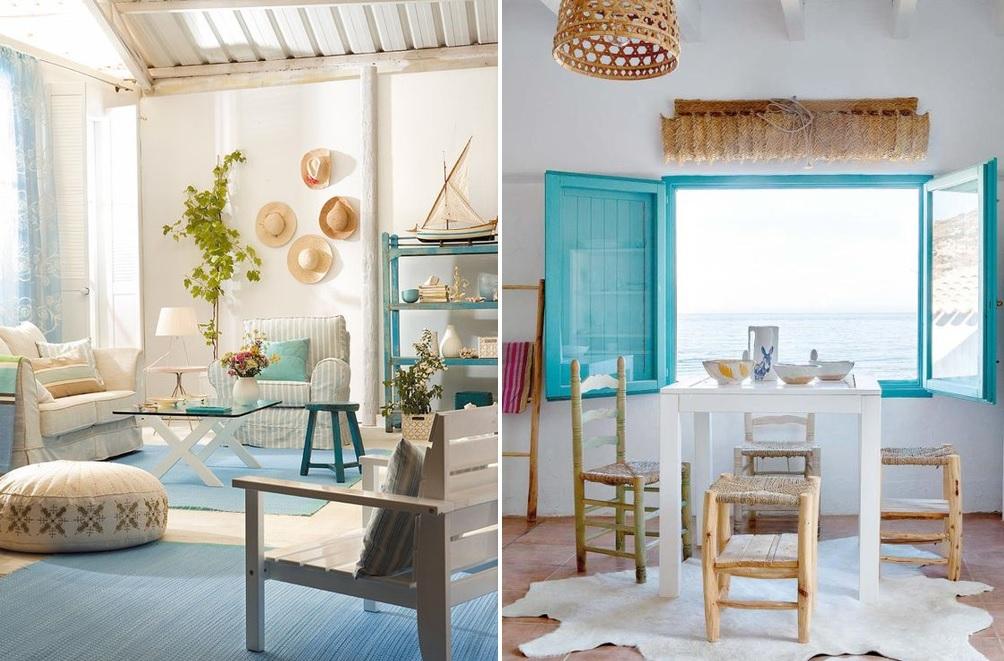 Las claves del estilo mediterr neo o ibicenco mi casa no - Muebles estilo mediterraneo ...