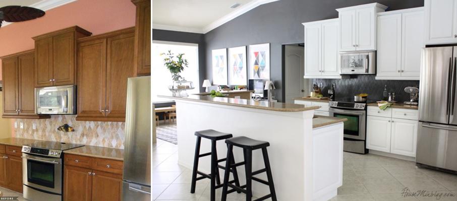 Pintar azulejos la mejor forma de renovar cocinas y ba os sin hacer obras mi casa no es de - Cubrir azulejos bano ...