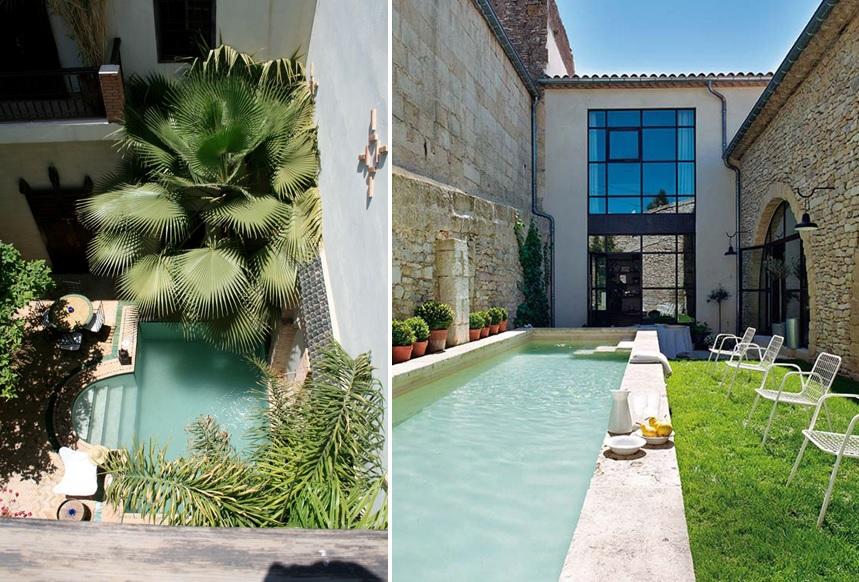 Inspiraci n backyard pools o charquitos en el patio que for Patios con piscina decoracion