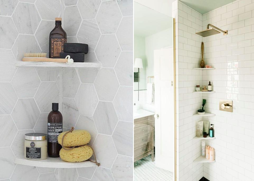 Cuatro formas de organizar los botes en la ducha mi casa - Ideas para duchas ...