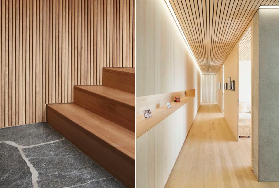 Revestimientos con listones de madera mi casa no es de mu ecas blog y asesor a online en - Revestimientos de paredes interiores en madera ...