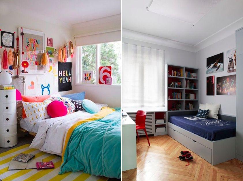 C mo distribuir y decorar una habitaci n juvenil mi casa for Programa para decorar habitaciones online