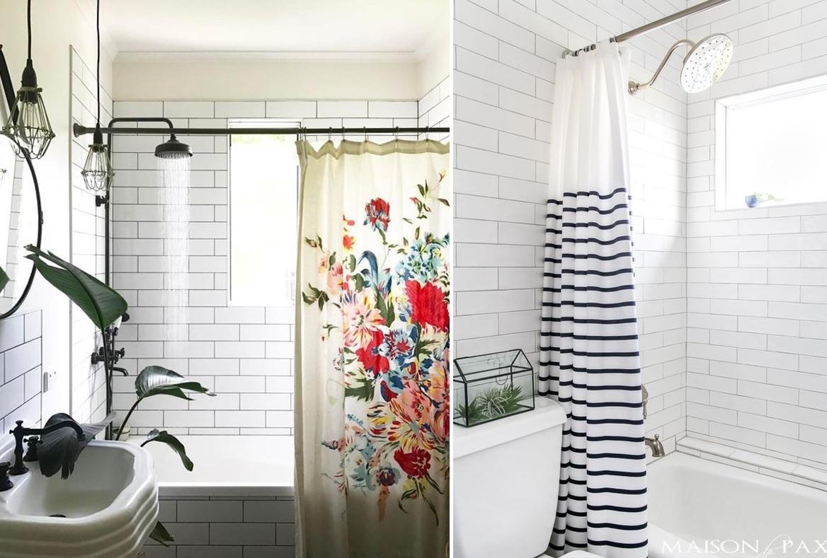 Cortinas de ducha originales para renovar tu ba o por muy - Cortinas de ducha originales ...
