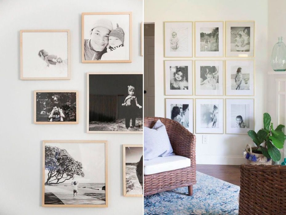 Decora las paredes con fotos descuento para crear tus - Lienzos para decorar ...