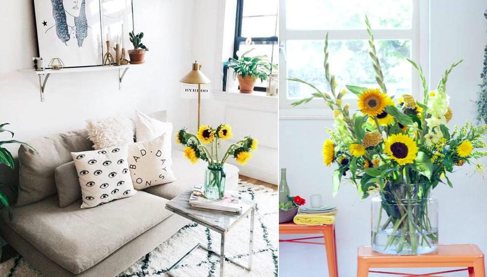 Consejos para decorar el sal n con flores naturales mi for Consejos de decoracion para el hogar
